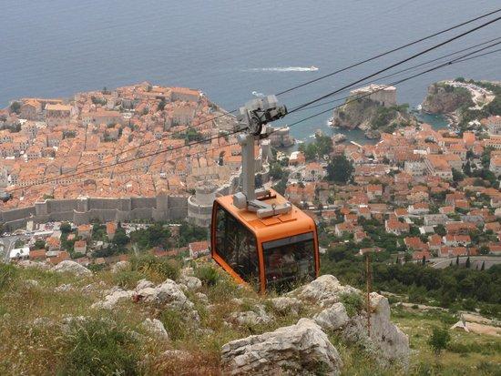 Funiculaire de Dubrovnik : cable car