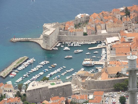 Funiculaire de Dubrovnik : from the top of the cable car ride