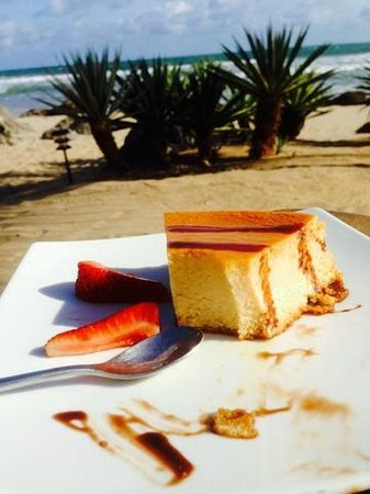 Present Moment Retreat: flan and an aperatif