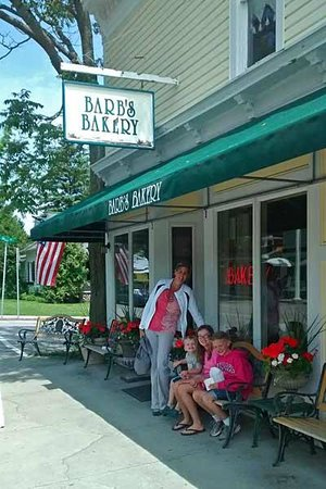 Outside Barb's Bakery