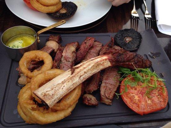 Airth Castle & Hotel: Steak!