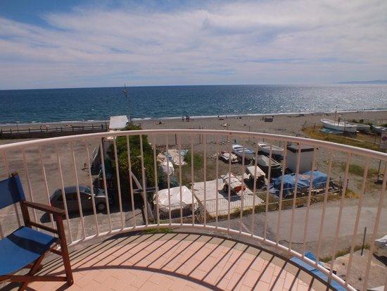 Hotel Sirenella: balcone vista mare