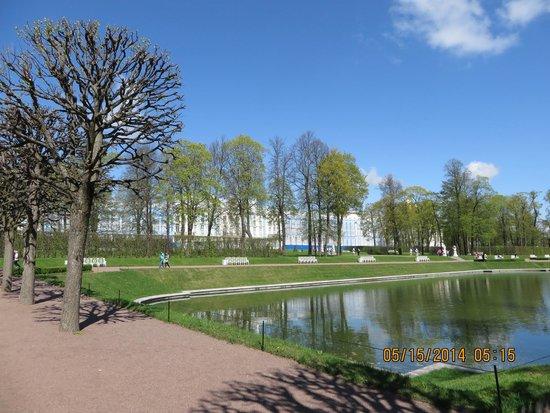 Tsarskoye Selo State Museum Preserve: Catherine Palace Garden