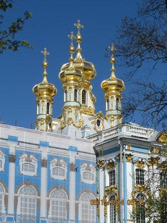 Tsarskoye Selo State Museum Preserve: Amazing Golden domes