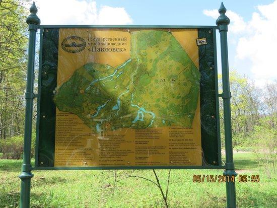 Tsarskoye Selo State Museum Preserve: Tsarskoye Selo Map