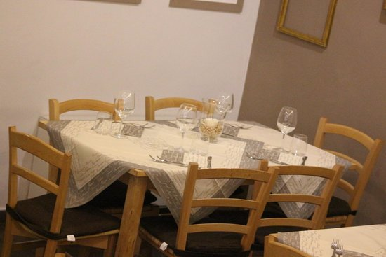 Osteria del Gusto: Une table