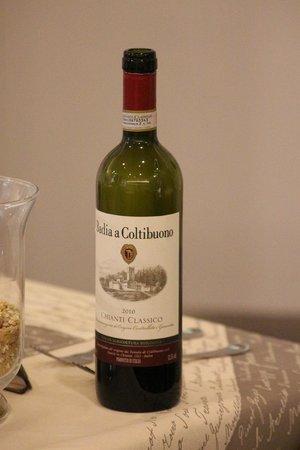 Osteria del Gusto: Le vin