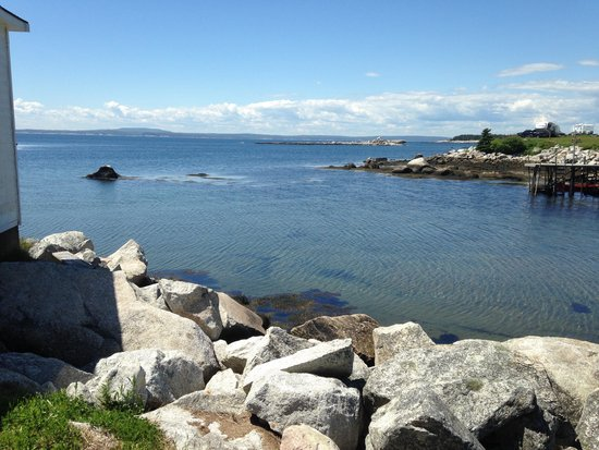 Ryer Lobsters: View from picnic tables