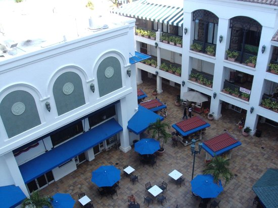 Marriott's BeachPlace Towers: PATIO DEL HOTEL