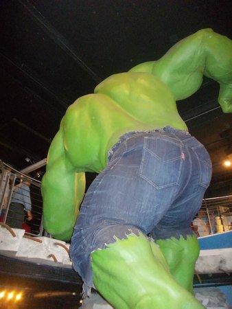 Madame Tussauds London: hulk