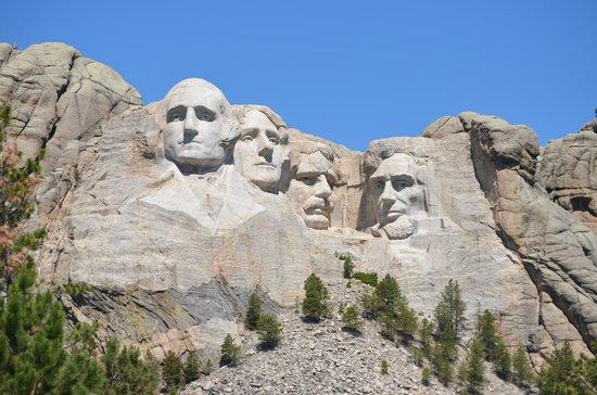 Mount Rushmore National Memorial: Nice view.
