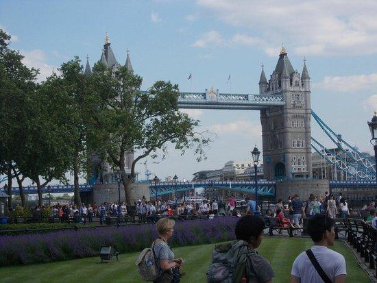 Madame Tussauds London: tower bridge