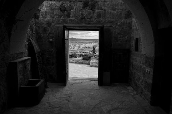 Argos in Cappadocia: great for black and white photography