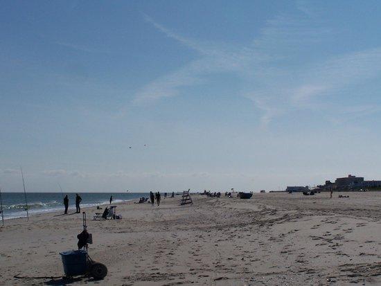 Cape May City Beaches: Spacious!