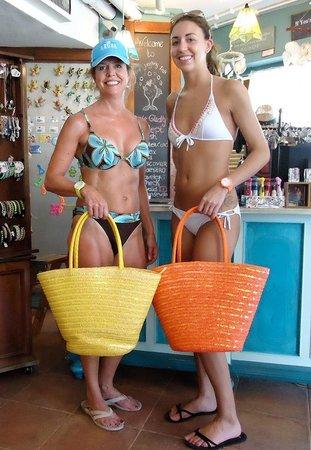 The Juggling Fish : Beach bags