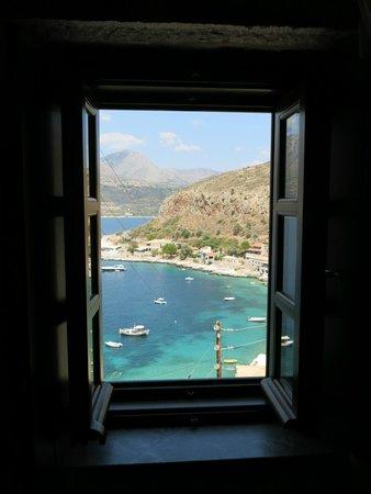 Vasilios Apartments Hotel: θέα