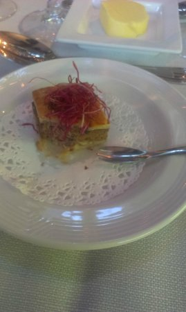 Cocoon Hotel Belair: Milles feuilles de viande