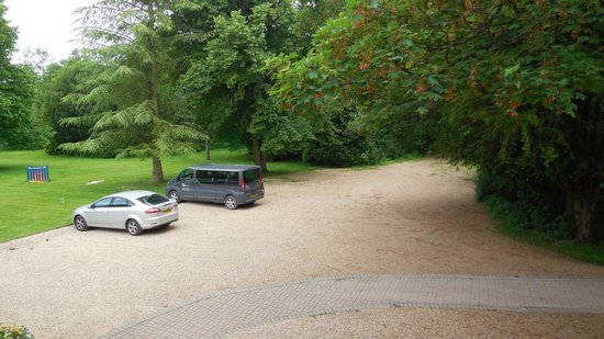 Norton Park - A QHotel: Stunning view from room 1 - car park