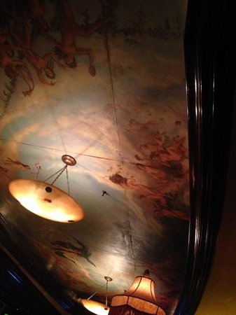 Old Ebbitt Grill: the ceiling