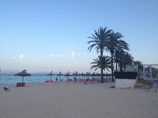 Hotel Condesa de la Bahía: Beach view!