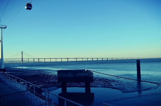 Vasco da Gama Bridge: красив