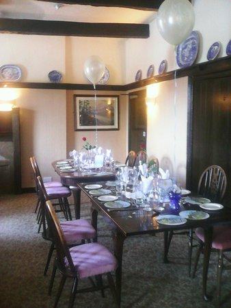 Ye Horns Inn: Our Wedding Reception