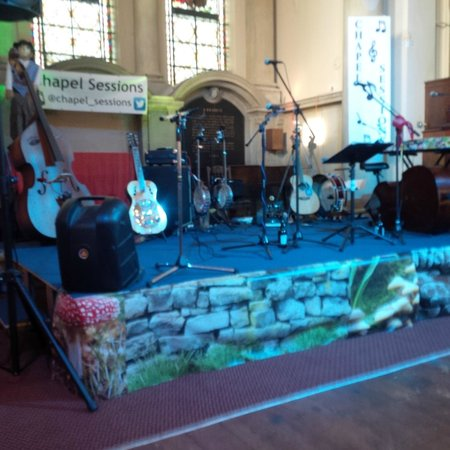 Royal Victoria Country Park Chapel: Chapel Sessions stage