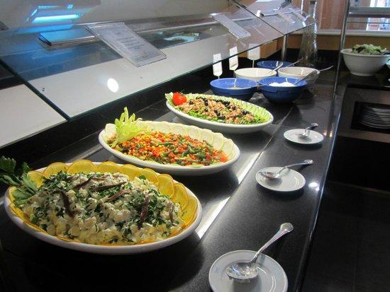 SunConnect Cabogata Garden: Gemengde koude groentenchotels middag/avond