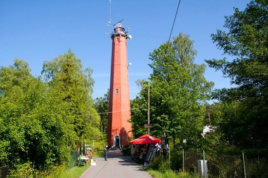 ‪Lighthouse in Hel‬