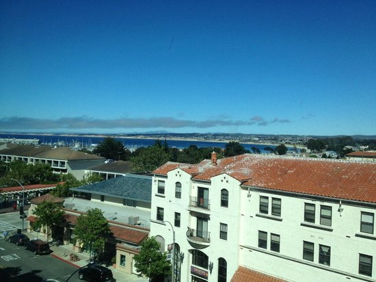 Monterey Marriott : View of Monterey Bay.