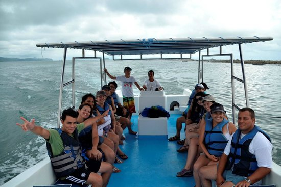 Whale adventure: Durante el recorrido