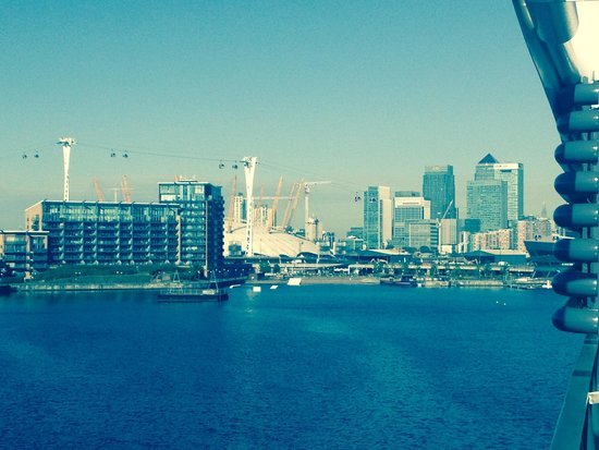 Sunborn London: View from the ship