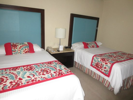 Now Jade Riviera Cancun Resort & Spa : Our wedding guest's room