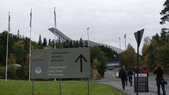 Musée du ski de Holmenkollbakken : Holmenkollen Jump Tower