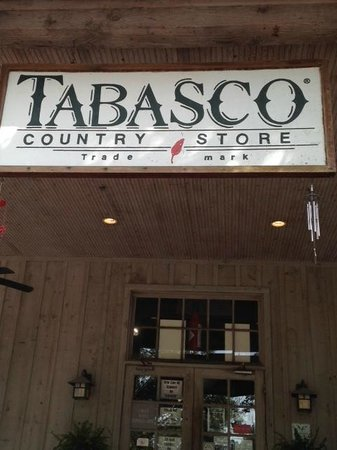 Tabasco Visitor Center and Pepper Sauce Factory: Tour entrance
