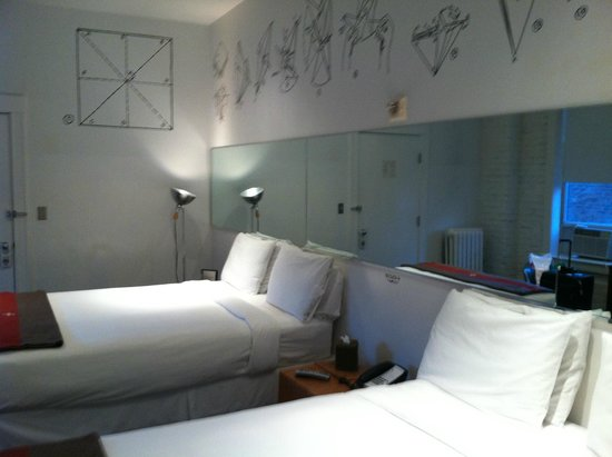 Ace Hotel : Our room