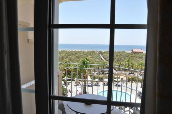 Melia Atlantico Isla Canela: Balkon