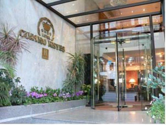 Hotel Cuatro Reyes : Entrada do Hotel