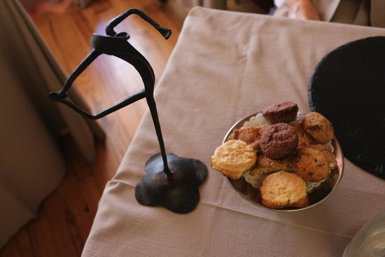 Le Logge del Vignola : Biscuits servis avec le café