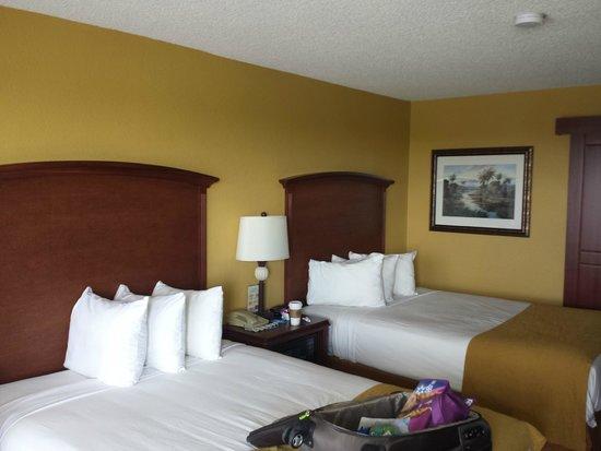 Rosen Inn at Pointe Orlando: beds