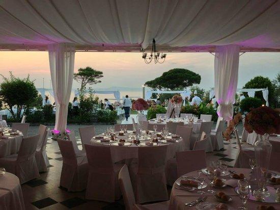 Villa Angelina: romantic dinner view