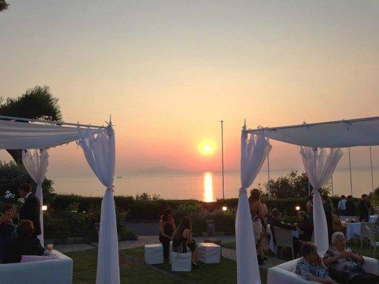 Villa Angelina: wonderful sunset