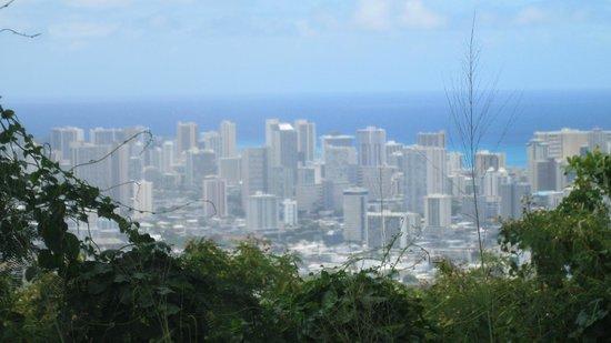 Tantalus Lookout Puu Ualakaa State Park: Waikiki