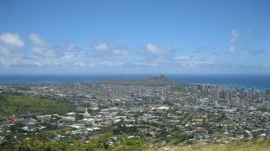 Tantalus Lookout Puu Ualakaa State Park: Oahu