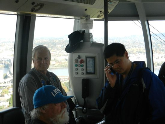 Portland Aerial Tram: The Gondola Pilot Rides With You