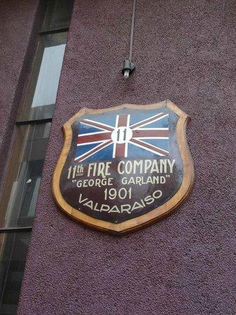 Bomba George Garland - Cuerpo de Bomberos de Valparaiso