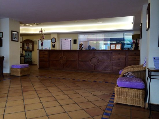 Hotel Les Palmeres: Ресепшен