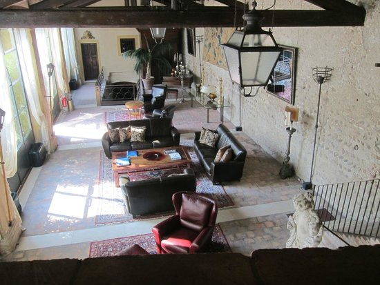 Hotel Villa Del Quar: Living room