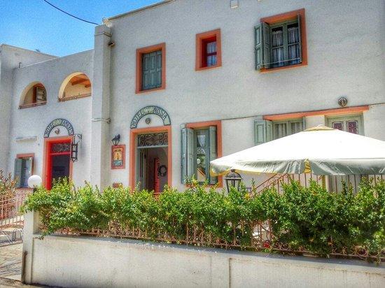 Nissia Kamares Hotel Apartments: Entrance