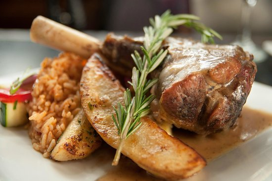 Balkan Restaurant : Roasted Lamb Shank